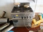 Immagine di cucina a gas 4 fuochi marca Zanussi