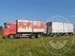 Immagine di Complesso veicolare formato da trattore Scania e rimorchio Viberti (lotto 2)