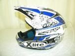 Un casco integrale NOLAN  X-Lite taglia M<br />4 Paramotori in alluminio <br />Una pettorina CROSS X-C TING, colore Rosso/Nero, taglia 2XL