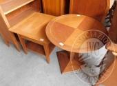 Tavolini, colonna, mobile sagomato