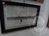 Fall. Zodo Alessandro n. 118/2017 - Fotografia 60 x 30 con cornice