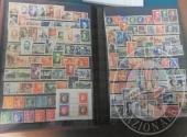 Francobolli da collezione: Francia (lotto 129), raccoglitore con 1.500 francobolli nuovi + pochettes, foglietti, carnet, due francobolli in argento e diversi francobolli sciolti