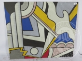 Sequestro Giudiziario 4272/2012 - Lotto 76: Stampa su tela cm . 156 x 130