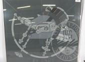 Sequestro Giudiziario 4272/2012 - Lotto 81: Serigrafia ritoccata a mano , retro con dedica cm. 110 x 97