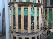 N.1 BOBINA DI CAVO IN RAME CON GUAINA IN PVC , MT 2000;