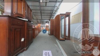 Visita virtuale e fisica dei beni mobili (Fallimento Ne.os srl)