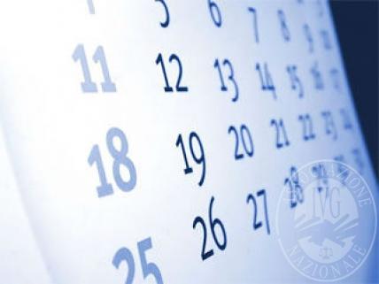 Calendario delle vendite