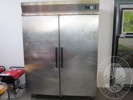 Armadio frigorifero marca GICO, modello 18/121000E in acciaio inox